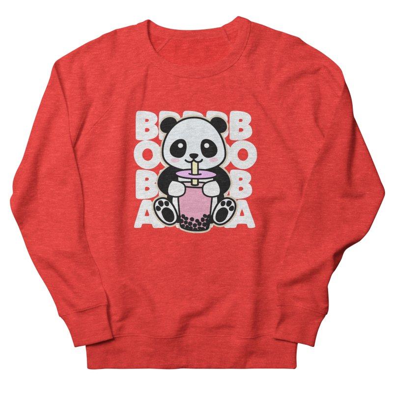 Panda Drinking Boba Women's Sweatshirt by Detour Shirt's Artist Shop