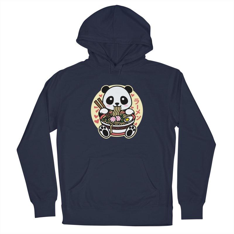Panda Eating Ramen Men's Pullover Hoody by Detour Shirt's Artist Shop
