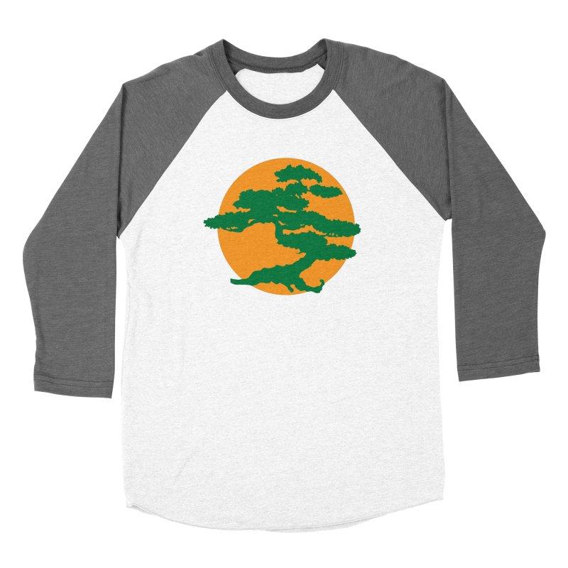 Bonsai Tree Men's Baseball Triblend Longsleeve T-Shirt by Detour Shirt's Artist Shop