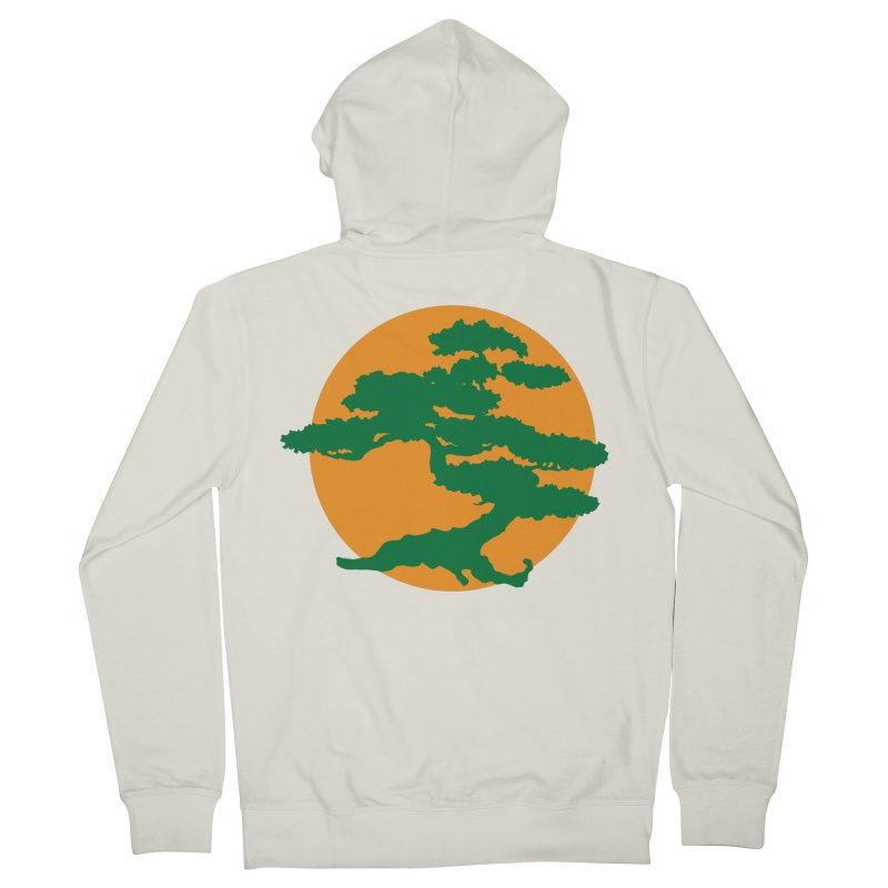 Bonsai Tree Men's Zip-Up Hoody by detourshirts's Artist Shop
