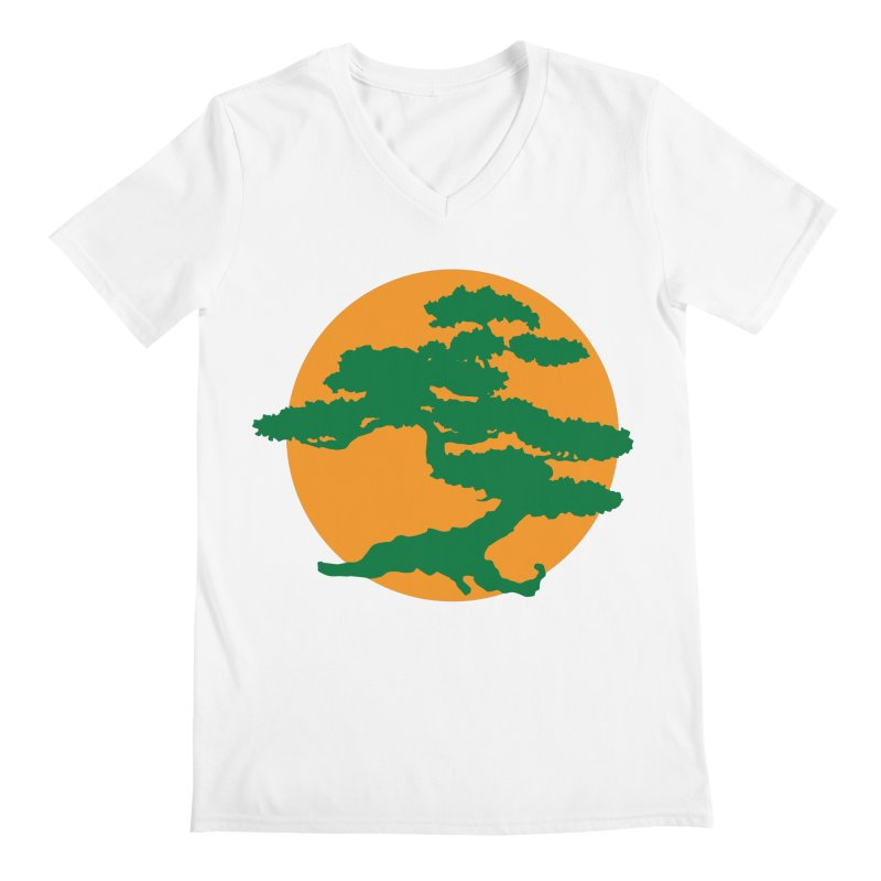 Bonsai Tree Men's V-Neck by detourshirts's Artist Shop