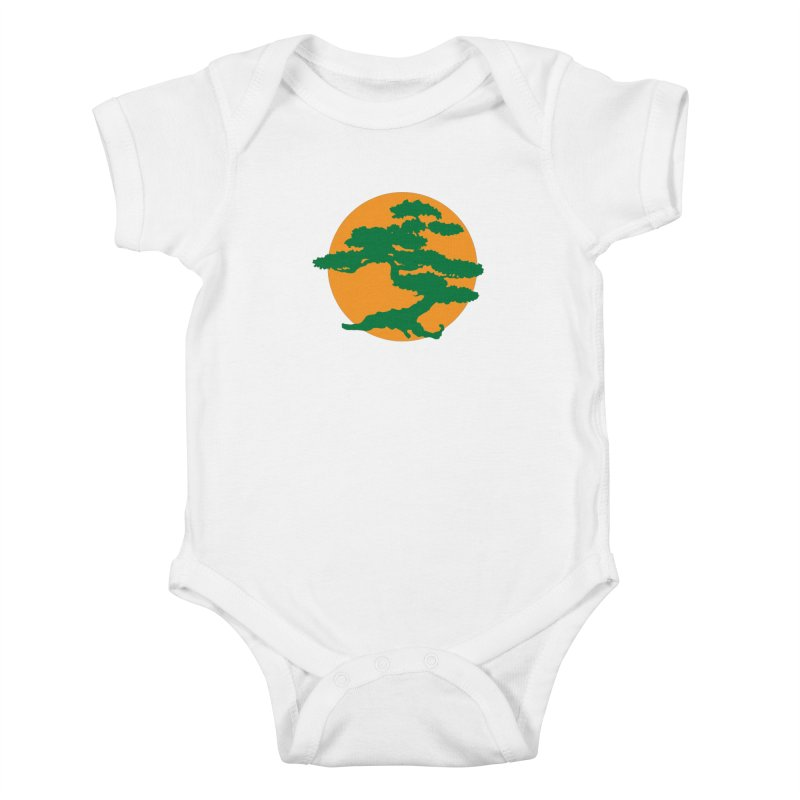 Bonsai Tree Kids Baby Bodysuit by detourshirts's Artist Shop