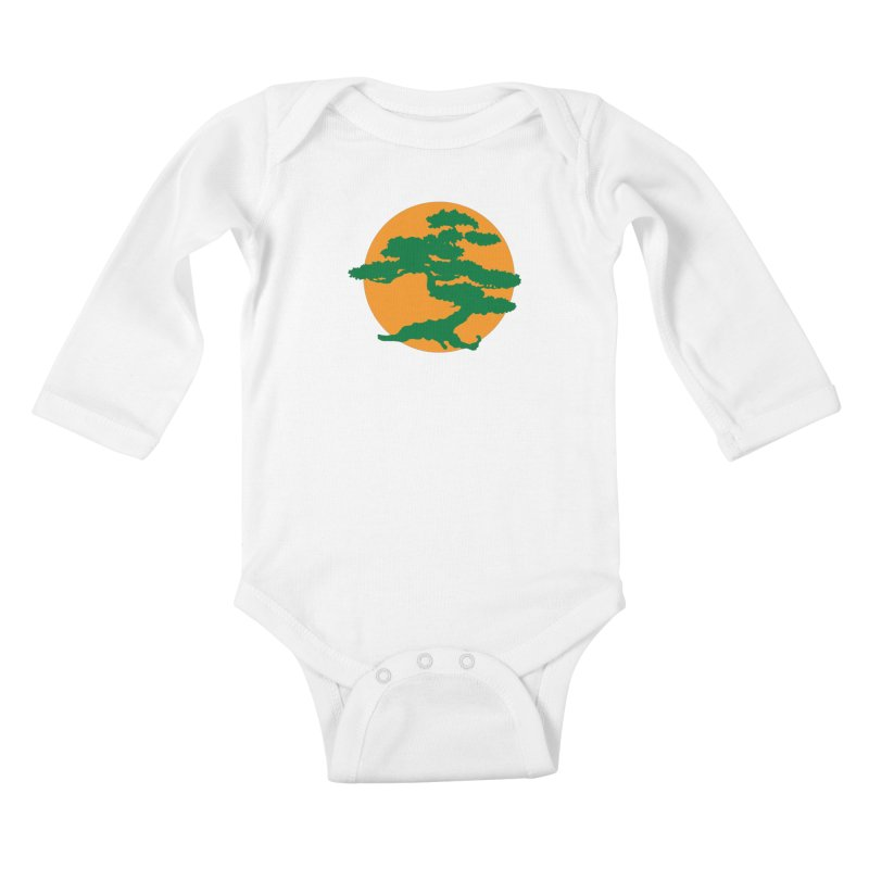 Bonsai Tree Kids Baby Longsleeve Bodysuit by detourshirts's Artist Shop