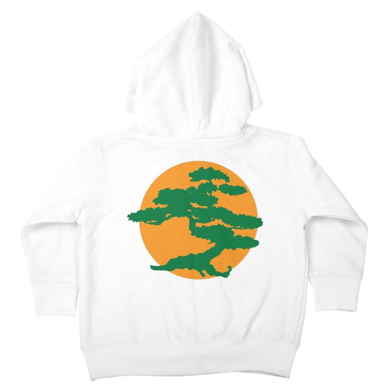 Bonsai Tree Kids Toddler Zip-Up Hoody by detourshirts's Artist Shop
