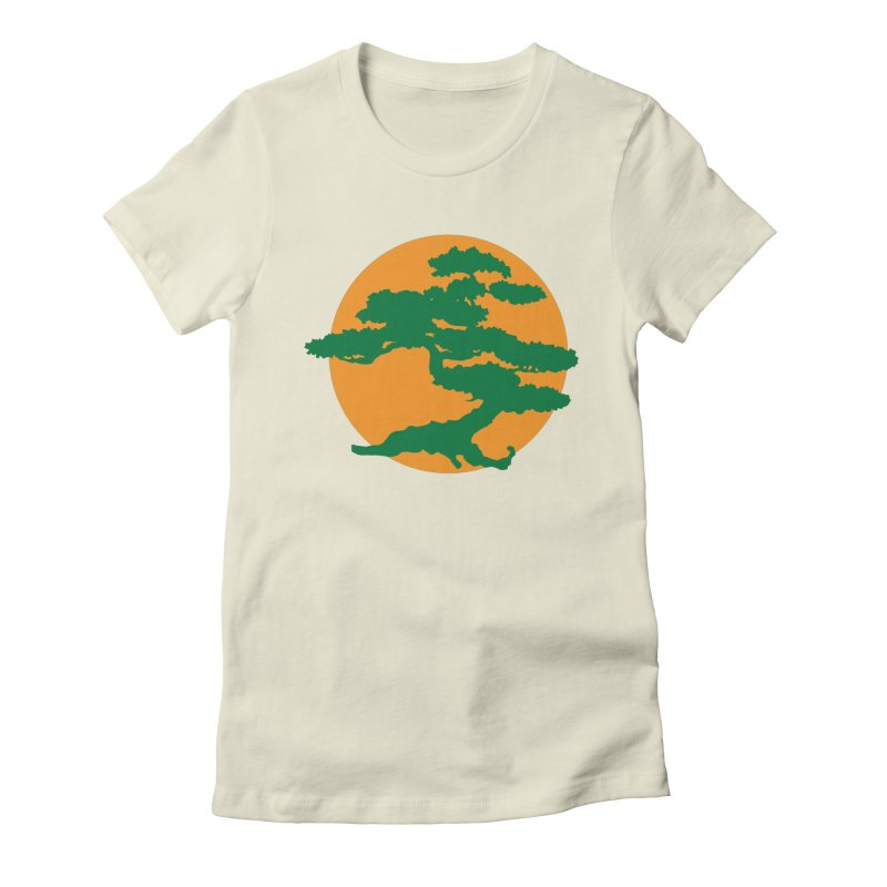 Bonsai Tree Women's Fitted T-Shirt by detourshirts's Artist Shop