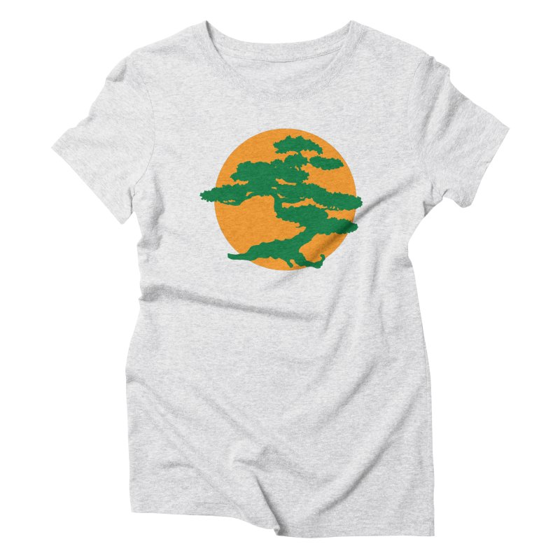 Bonsai Tree Women's Triblend T-Shirt by detourshirts's Artist Shop