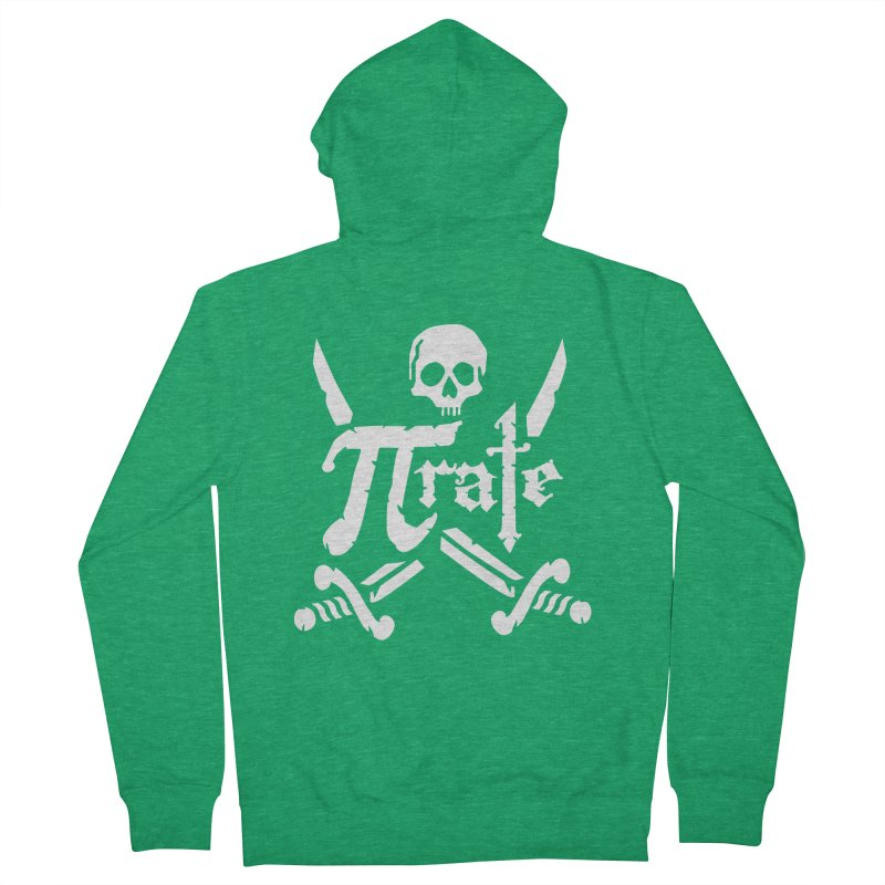 Pi Rate Women's Zip-Up Hoody by detourshirts's Artist Shop