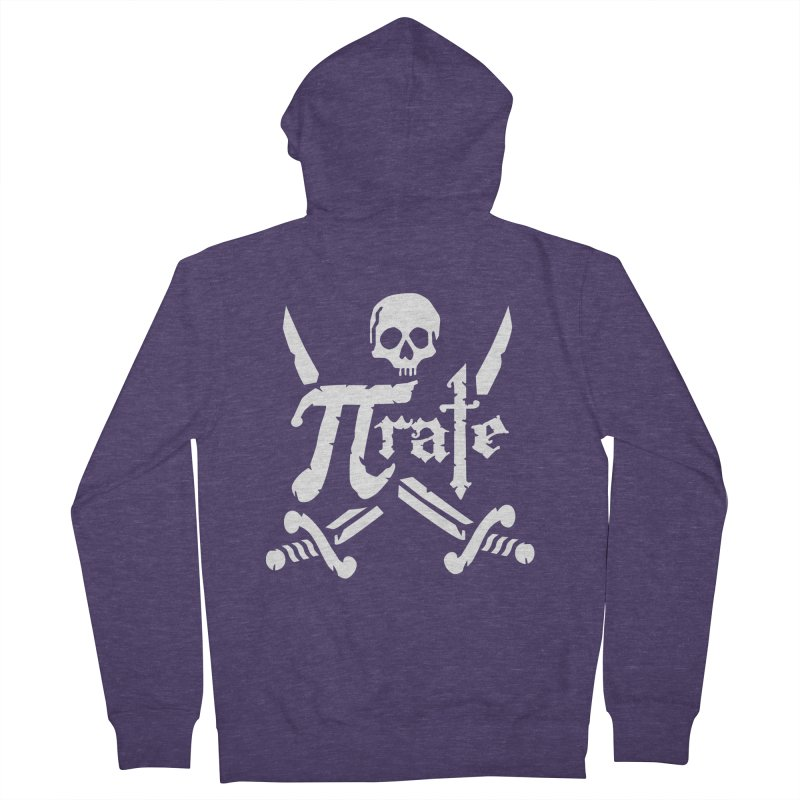 Pi Rate Men's Zip-Up Hoody by detourshirts's Artist Shop