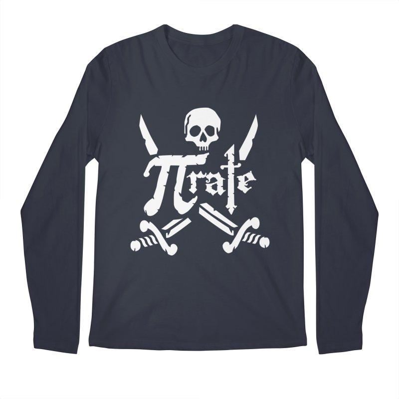Pi Rate Men's Longsleeve T-Shirt by detourshirts's Artist Shop