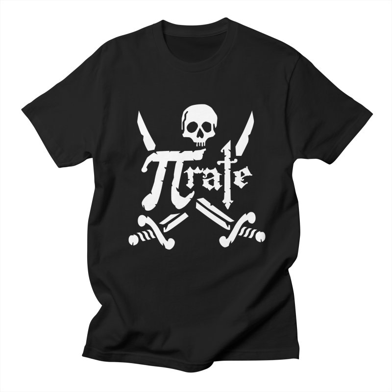 Pi Rate in Men's T-Shirt Black by detourshirts's Artist Shop