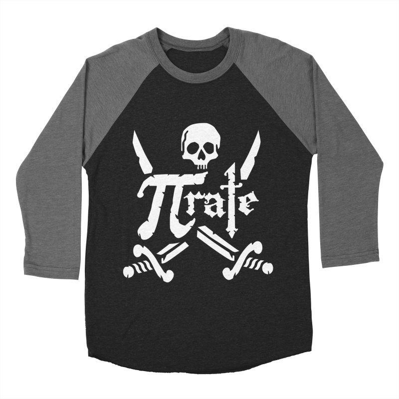 Pi Rate Women's Baseball Triblend T-Shirt by detourshirts's Artist Shop