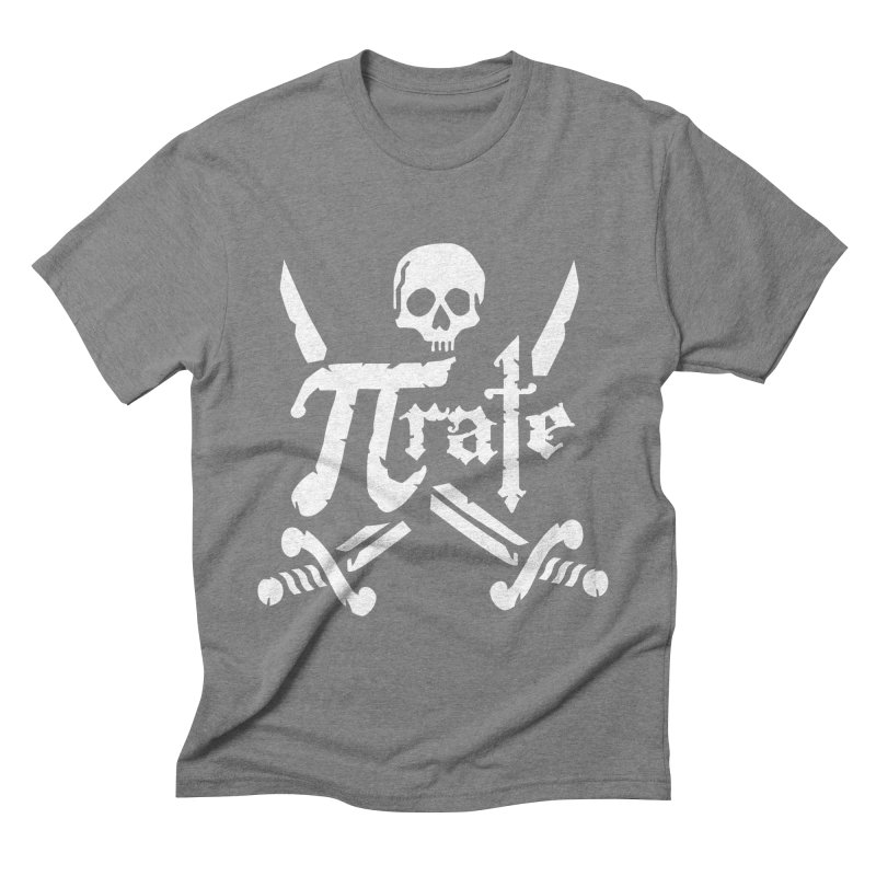 Pi Rate Men's Triblend T-shirt by detourshirts's Artist Shop