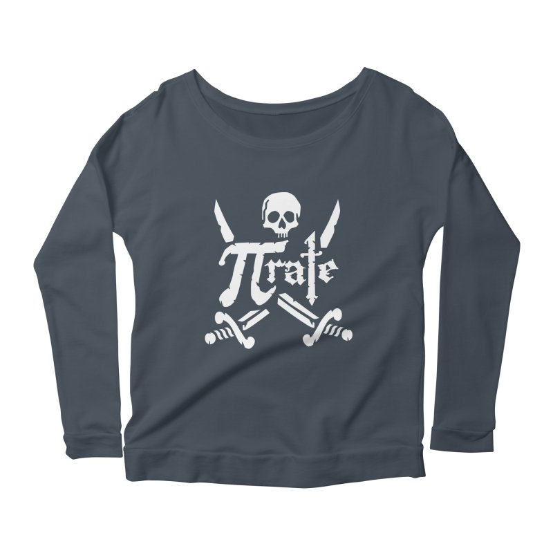 Pi Rate Women's Longsleeve Scoopneck  by detourshirts's Artist Shop