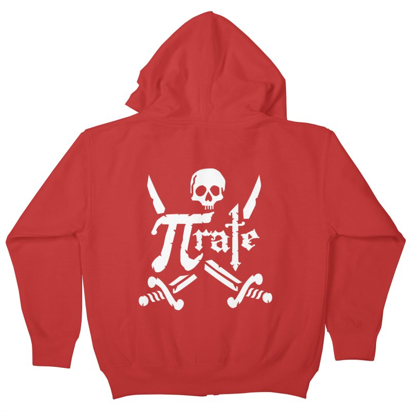 Pi Rate Kids Zip-Up Hoody by detourshirts's Artist Shop
