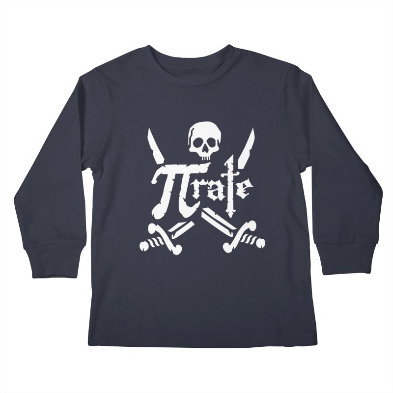 Pi Rate Kids Longsleeve T-Shirt by detourshirts's Artist Shop
