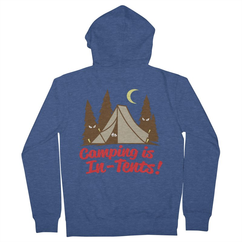 Camping Is In-Tents Men's Zip-Up Hoody by detourshirts's Artist Shop