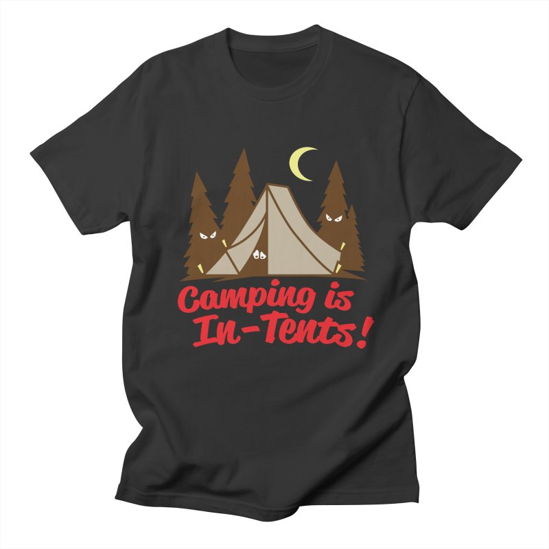 Camping Is In-Tents Men's T-Shirt by detourshirts's Artist Shop