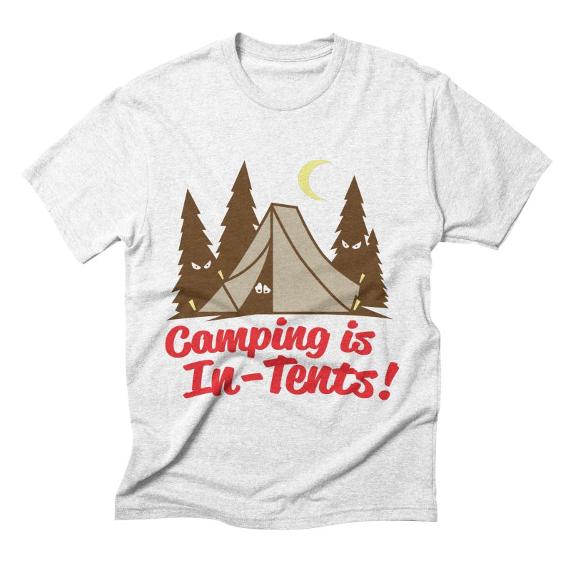Camping Is In-Tents Men's Triblend T-shirt by detourshirts's Artist Shop
