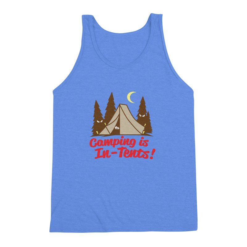 Camping Is In-Tents Men's Triblend Tank by detourshirts's Artist Shop