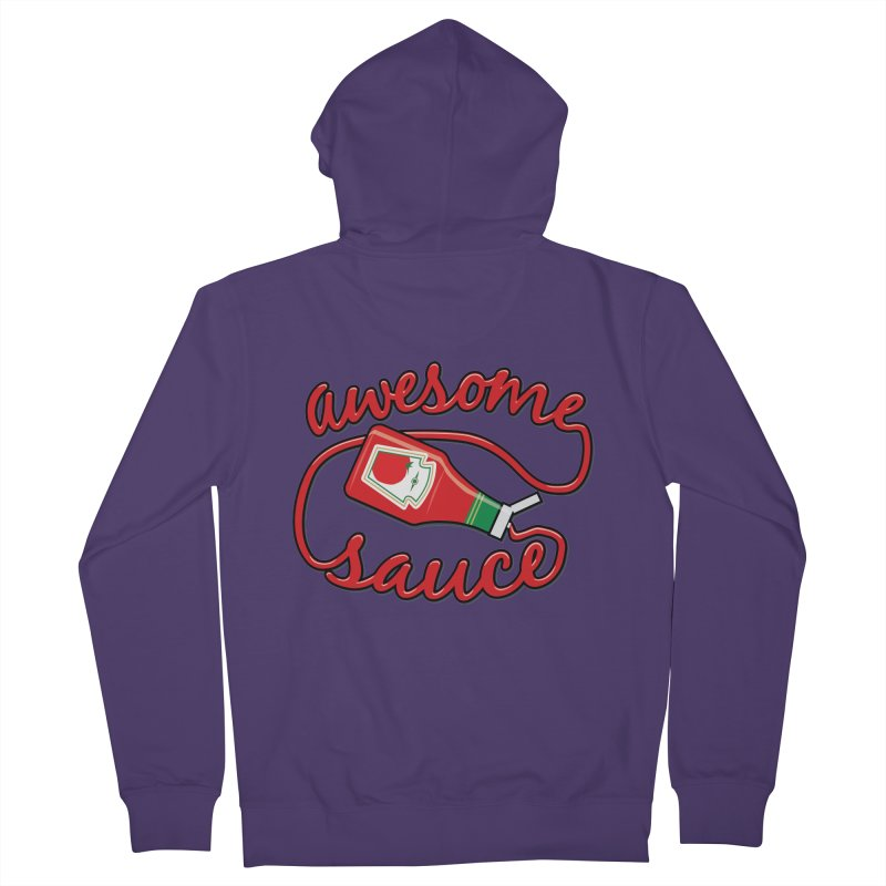 Awesome Sauce Women's Zip-Up Hoody by detourshirts's Artist Shop