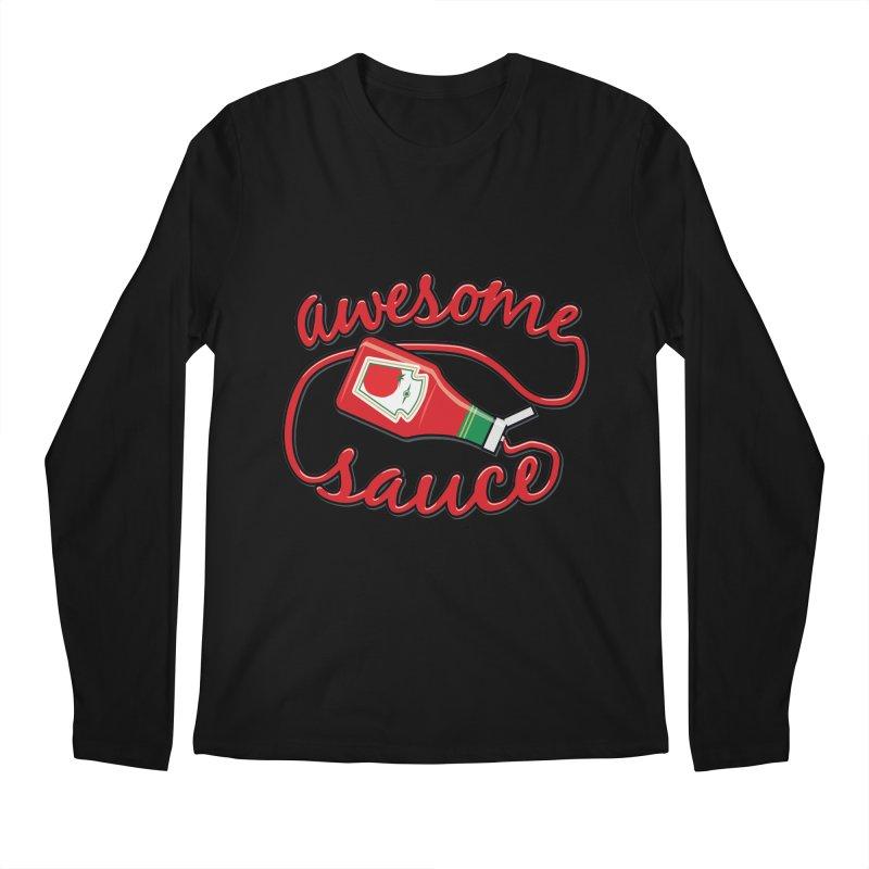 Awesome Sauce Men's Longsleeve T-Shirt by detourshirts's Artist Shop