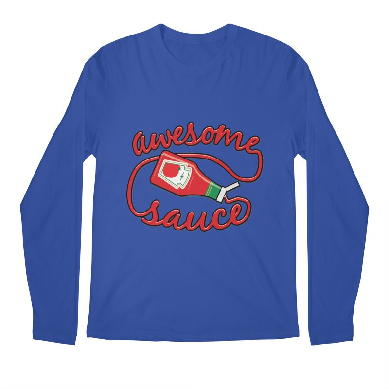 Awesome Sauce Men's Longsleeve T-Shirt by detourshirts's Artist Shop