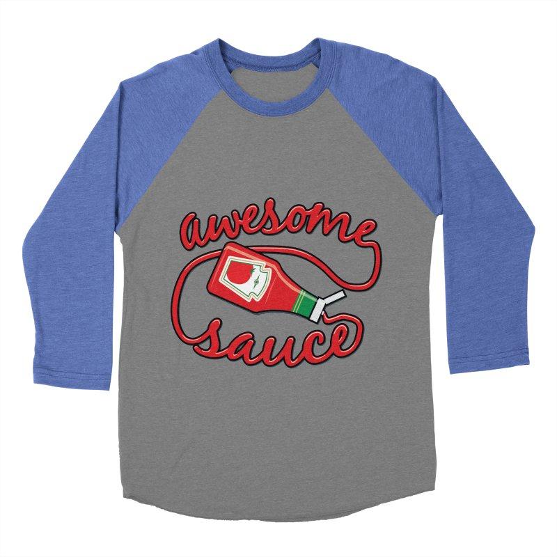 Awesome Sauce Women's Baseball Triblend T-Shirt by detourshirts's Artist Shop