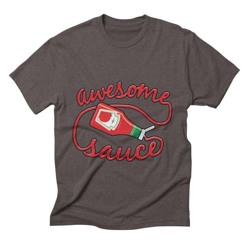 Awesome Sauce Men's Triblend T-shirt by detourshirts's Artist Shop
