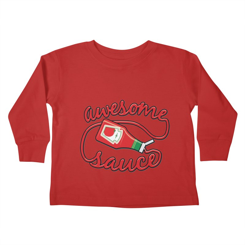 Awesome Sauce Kids Toddler Longsleeve T-Shirt by detourshirts's Artist Shop