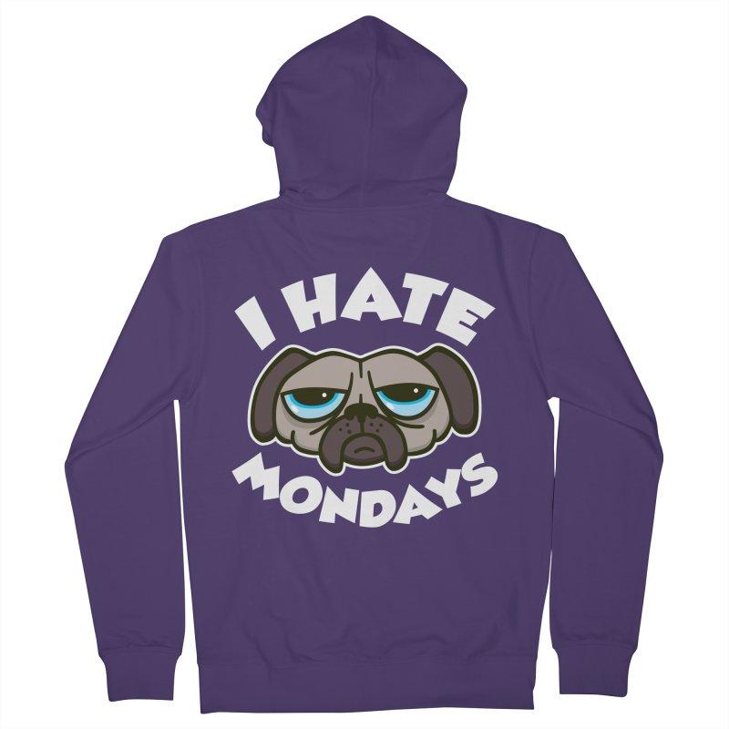 I Hate Mondays Women's Zip-Up Hoody by detourshirts's Artist Shop