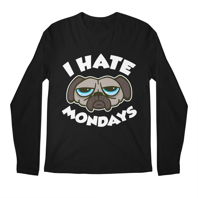 I Hate Mondays Men's Longsleeve T-Shirt by detourshirts's Artist Shop