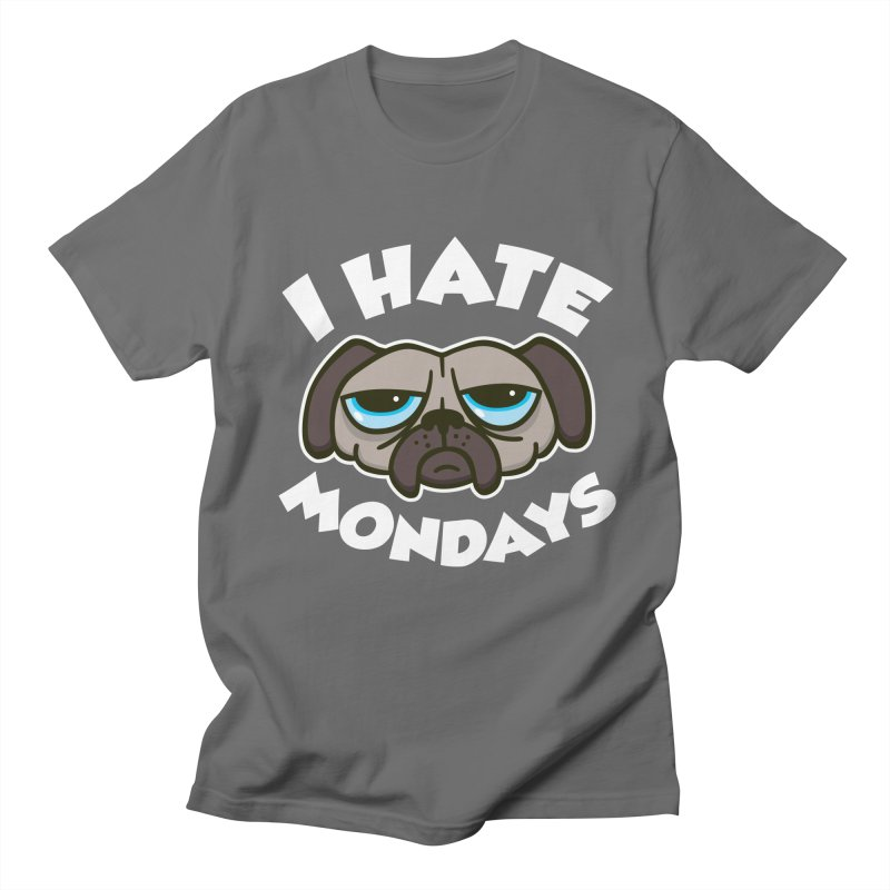 I Hate Mondays in Men's T-shirt Asphalt by detourshirts's Artist Shop