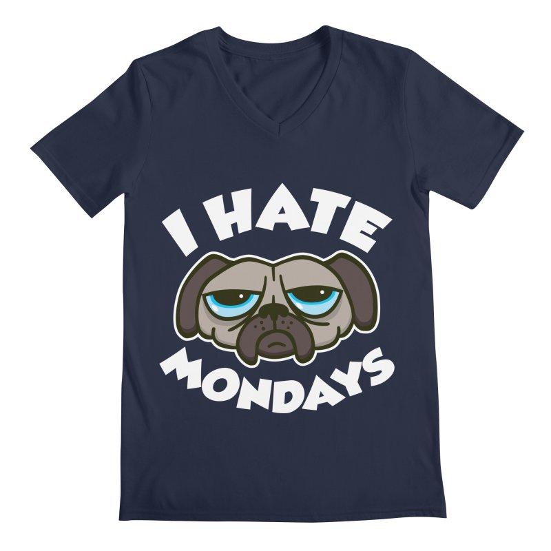 I Hate Mondays Men's V-Neck by detourshirts's Artist Shop