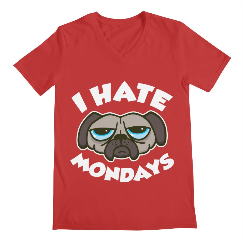 I Hate Mondays Men's V-Neck by detourshirts's Artist Shop