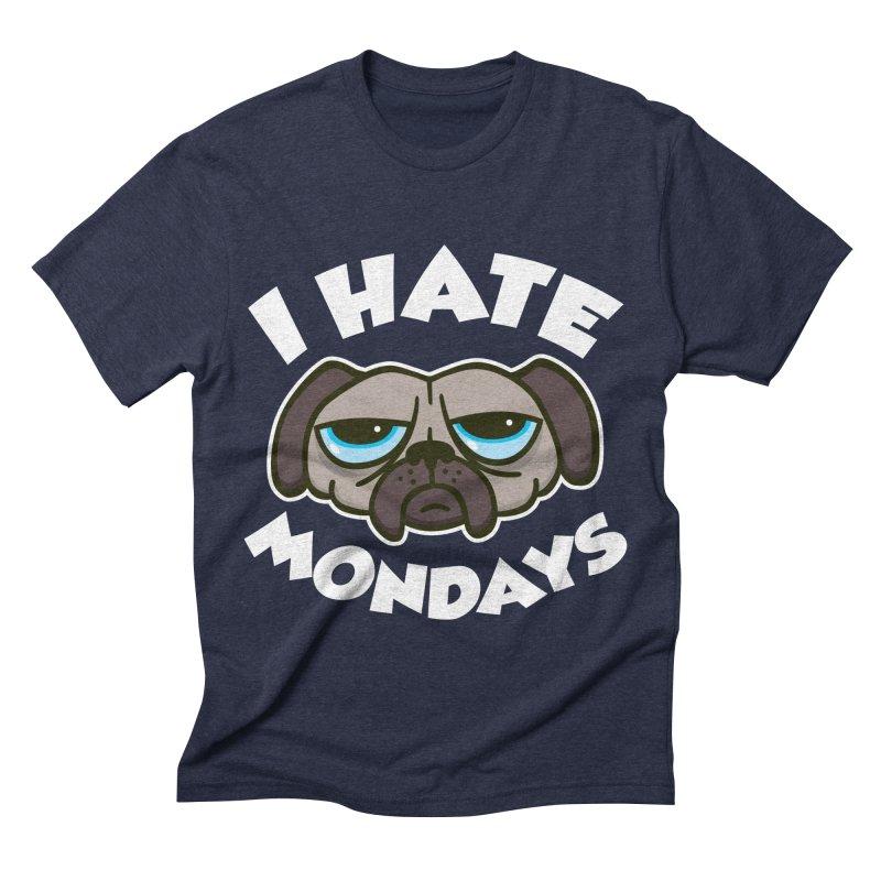 I Hate Mondays Men's Triblend T-shirt by detourshirts's Artist Shop