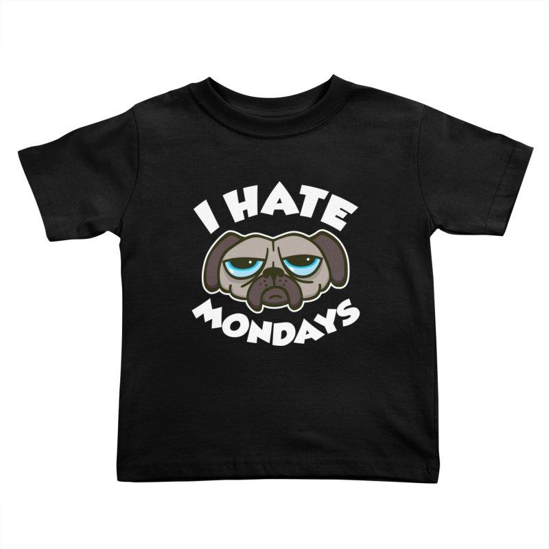 I Hate Mondays Kids Toddler T-Shirt by Detour Shirt's Artist Shop