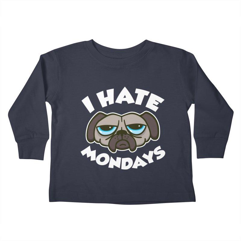 I Hate Mondays Kids Toddler Longsleeve T-Shirt by detourshirts's Artist Shop