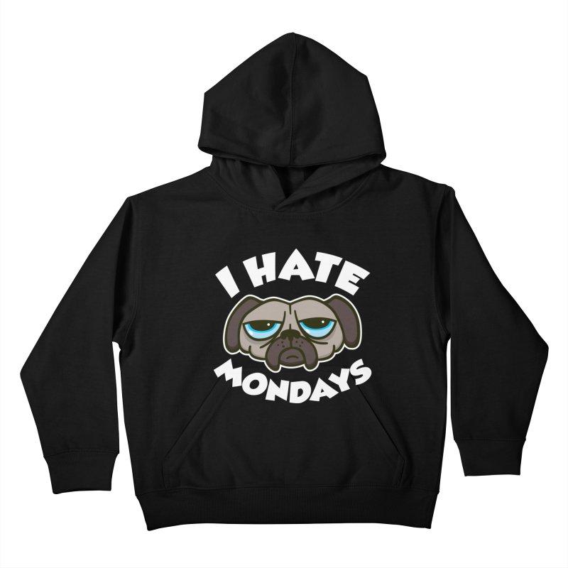 I Hate Mondays Kids Pullover Hoody by Detour Shirt's Artist Shop
