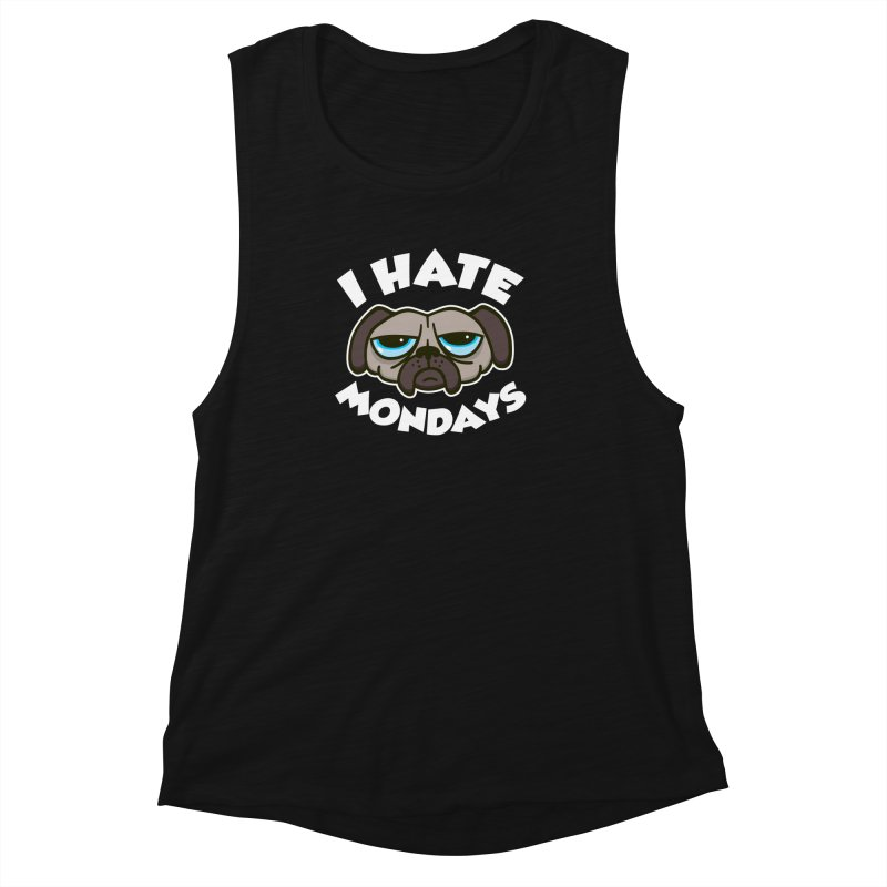 I Hate Mondays Women's Muscle Tank by Detour Shirt's Artist Shop