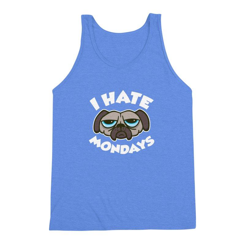I Hate Mondays Men's Triblend Tank by detourshirts's Artist Shop