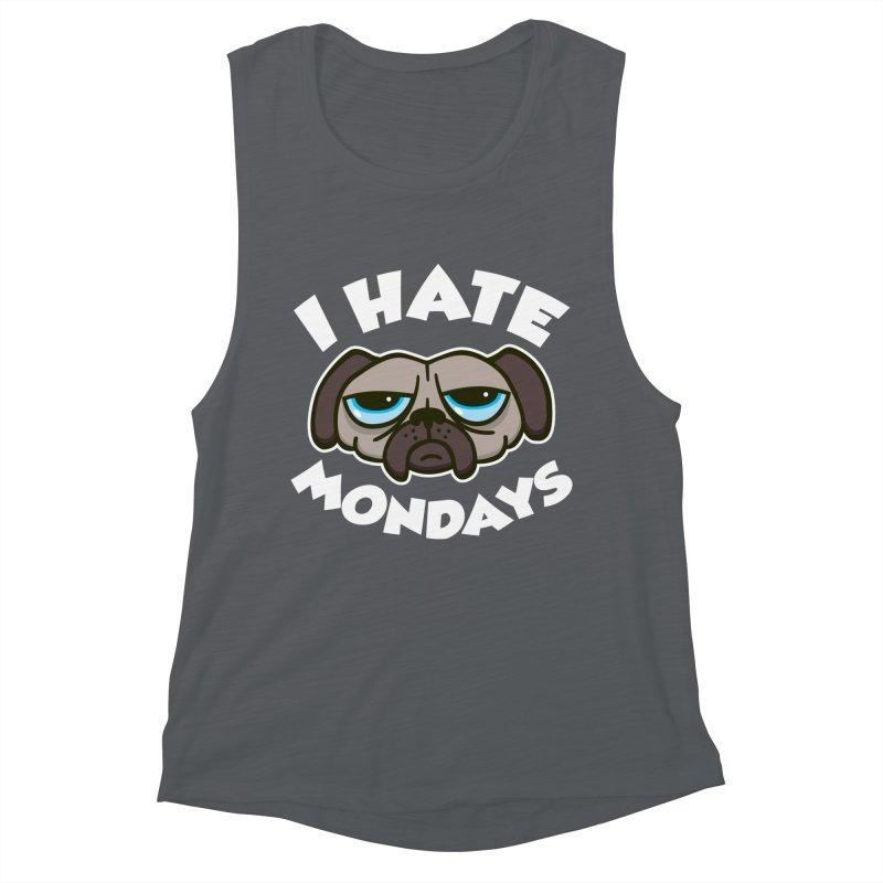 I Hate Mondays Women's Muscle Tank by Detour Shirt's Artist Shop