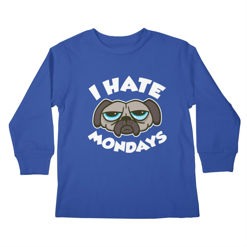 I Hate Mondays Kids Longsleeve T-Shirt by detourshirts's Artist Shop