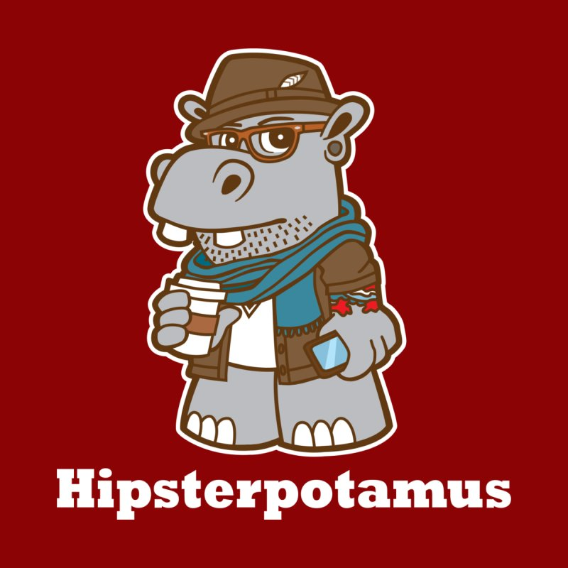 Hipsterpotamus by detourshirts's Artist Shop