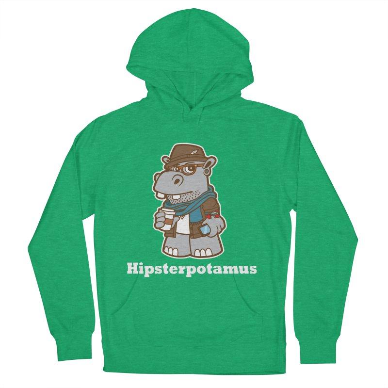Hipsterpotamus Men's Pullover Hoody by detourshirts's Artist Shop