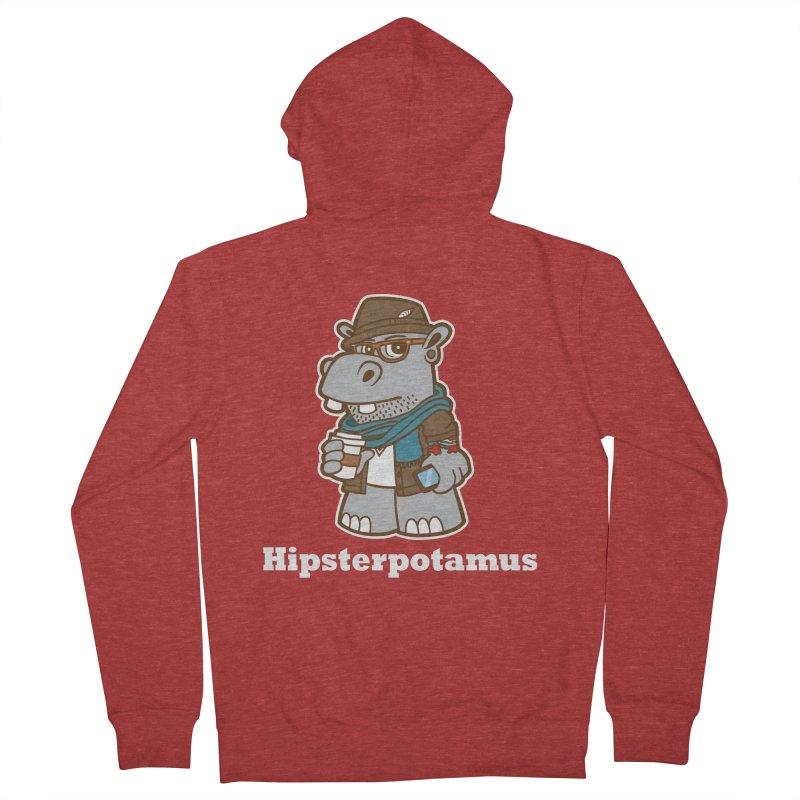 Hipsterpotamus Women's Zip-Up Hoody by detourshirts's Artist Shop
