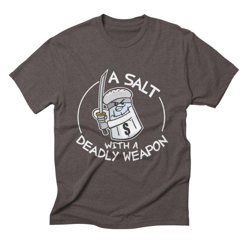 A Salt with a Deadly Weapon Men's Triblend T-Shirt by detourshirts's Artist Shop