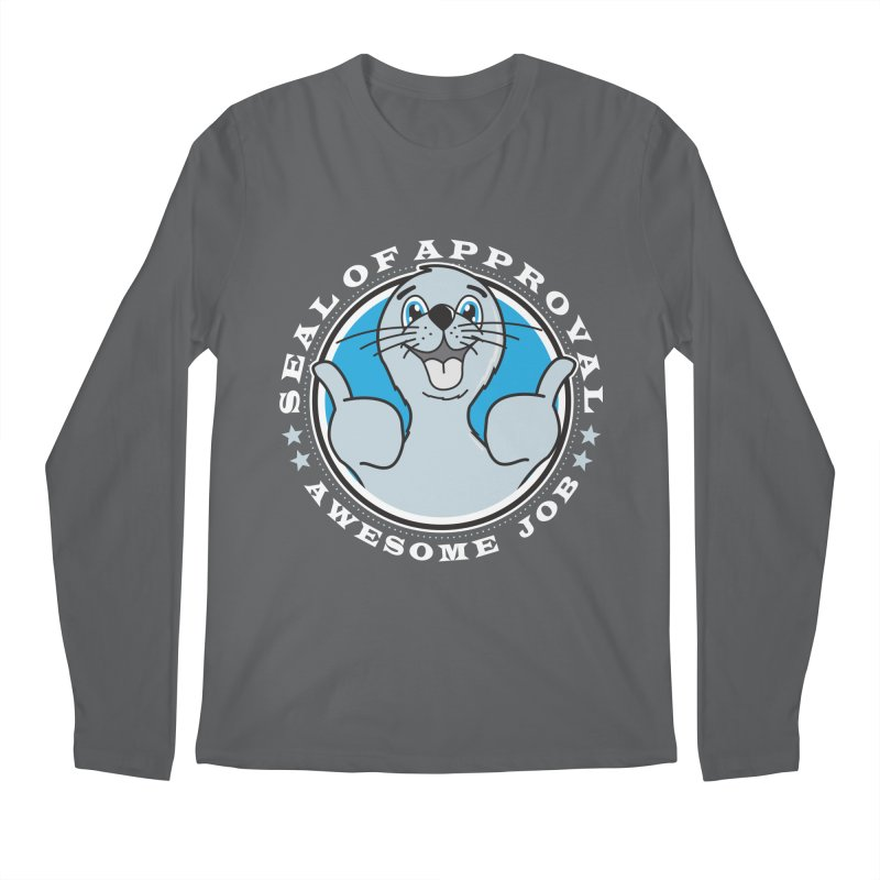 Seal of Approval Men's Longsleeve T-Shirt by detourshirts's Artist Shop