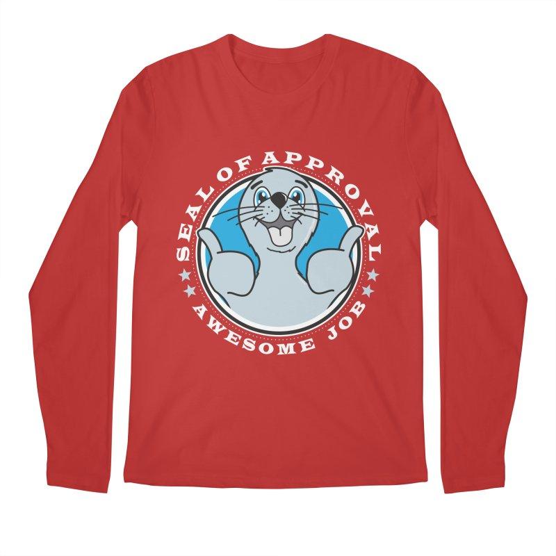 Seal of Approval Men's Longsleeve T-Shirt by detourshirts's Artist Shop