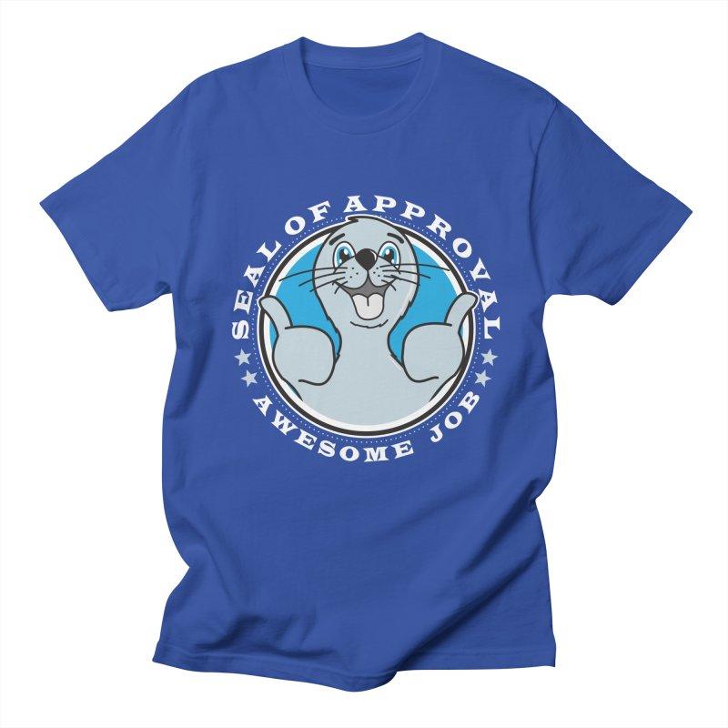 Seal of Approval Men's Regular T-Shirt by Detour Shirt's Artist Shop