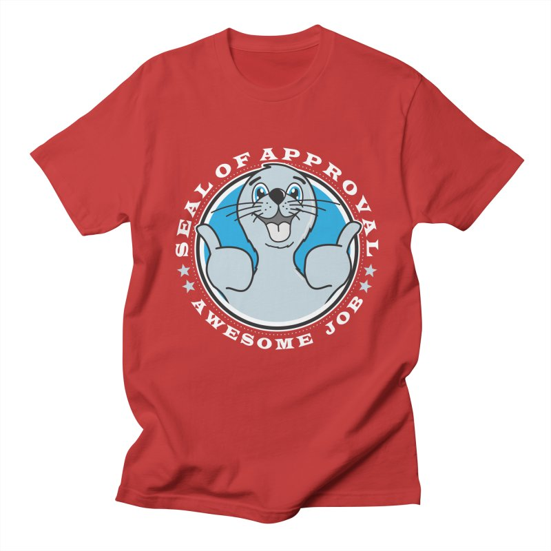 Seal of Approval Men's T-shirt by detourshirts's Artist Shop